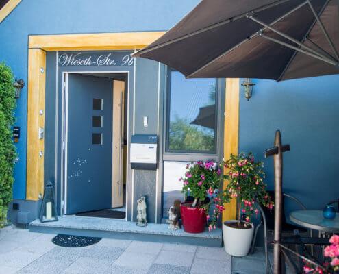 Eingang Kaiser's Plateau Wohnung Ferienwohnungen Herrieden