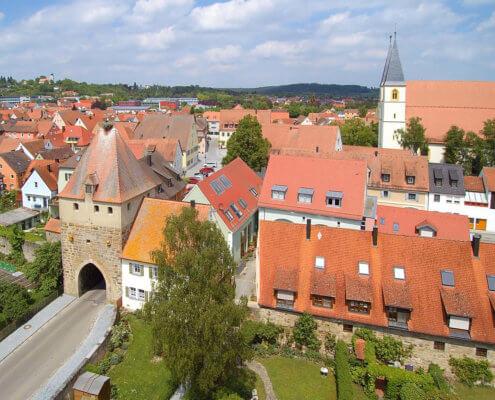Ferienhof Kaiser in Herrieden – der romantischen Stadt an der Altmühl
