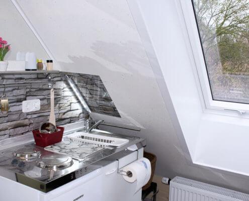 Singlestudio 2 Küche – Ferienhof Kaiser Herrieden