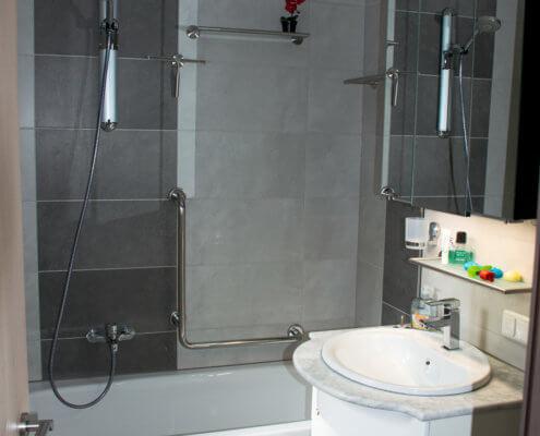 Badewanne extra tief zum leichten Einsteigen – Ferienhof Kaiser Herrieden