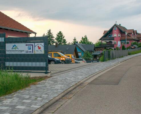Parkplatz – Ferienwohnungen Herrieden