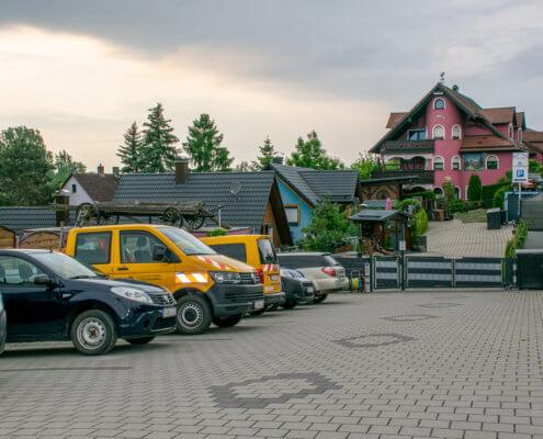 Parkplatz – Willkommen auf dem Ferienhof Kaiser!