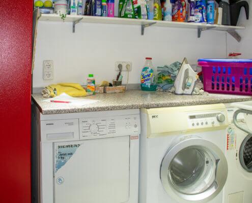 Waschmaschine und Trockner für Singlestudios – Ferienhof Kaiser